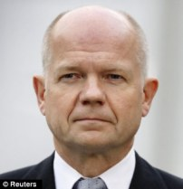 UK Foreign Secretary, William Hague