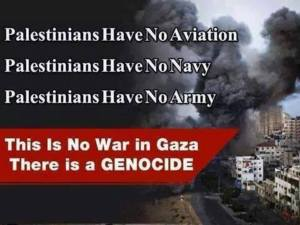 Palestine has no army